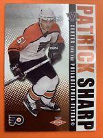 2003 Pacific Vanguard Rookie #127 Patrick Sharp /1650 Philadelphia Flyers RC