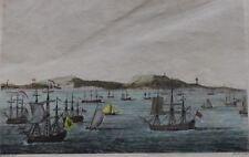 EDWARD WALSH (1756-1832  Hand-colored Engraving — Circa 18th Century, Rare