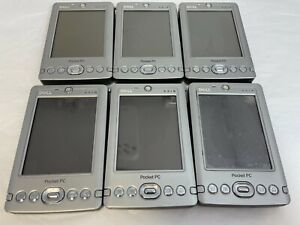 Lot 6 Dell Axim X3i X3 X30 Pocket PC Windows Mobile with 5 Batteries