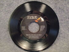 """45 RPM 7"""" Record Rick Springfield What Kind Of Fool Am I & How Do You PB-13245"""