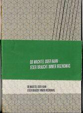 Ob Wachtel oder Hahn-Jeder braucht immer irgendwas Literaturfest Hildesheim 2013