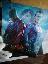 Batman vs Superman Dawn of Justice Lenticular 3D Flip Magnet Cover FOR steelbook