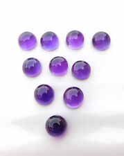 35.60 Cts 15 Pcs Natural Amethyst Round Cab Lot Loose Gemstone Size 8 MM H-1518