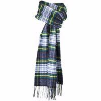 Scottish 100 % Authentic Wool Tartan Gordon Dress Modern Clan Scarf New !