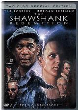 The Shawshank Redemption Tim Robbins Mogan Freeman 2 dvd Special Edition movie