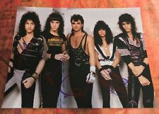 Gfa Geoff Tate Band x4 * Queensryche * Signed 11x14 Photo Proof Q3 Coa