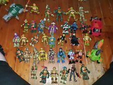 Teenage mutant ninja turtles figures and vehicles bundle