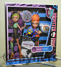 New | Monster High Clawdeen & Howleen Wolf Werewolf Sisters Dolls - Twin Pack
