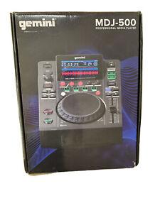 gemini MDJ-500 - Professional Media Player - sehr gut erhalten in OVP