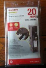 Square D Homeline 20 Amp Plug-On Neutral Combination Arc Fault Circuit Breaker