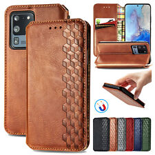 Leather Flip Wallet Stand Case Cover For Samsung Galaxy S20 Ultra/Plus/A51/A71
