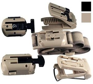 ENERGIZER Tactical Helmet Light Mount Kit - Sand / Black