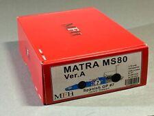 Rare Model Factory Hiro Marta MS80 '69 Spanish GP J. Stewart full detail F1 kit