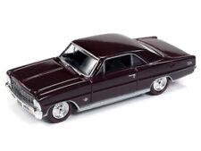 RACING CHAMPIONS MINT 1:64 Diecast 1966 Chevrolet Nova SS Madeira Maroon