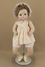 "24"" Vintage Composition Cloth Effanbee SWEETIE PIE baby doll w Flirty Eyes"
