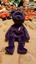 Ty Beanie Baby ~ PRINCESS Diana Bear from 1997 PE Pellets Mint condition