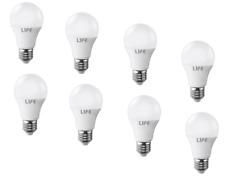 KIT 8PZ LAMPADINA LED 12V E27 9W LUCE CALDA FOTOVOLTAICO ISOLA SOLARE LAMPADA