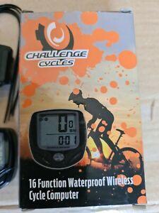 Challenge Cycles Bike Speedometer Computer 16 Powerful Features UK Ship FOC