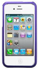Coque Rigide Housse de protection housse portable alu de XQISIT pour Apple iPhone 4/4 S violet