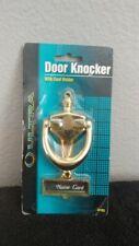 Door Knocker with Card Holder