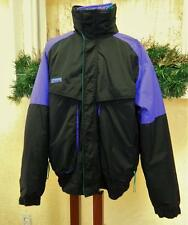 Columbia Mens L Powder Keg 3 in 1 Ski Parka Coat Jacket Black/Multi Pockets