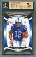 Andrew Luck 2012 Topps Chrome Red Zone Rookies Ref #Rzdc1 BGS 9.5 (10 9.5 10 9)