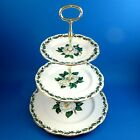 Royal Albert Lady Clare 3 Tier Cake Plate