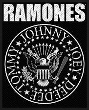Ramones Classic Seal Patch/ricamate 602692 #
