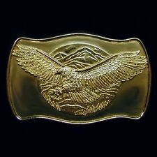'Flying Eagle' Gold Belt Buckle NEW