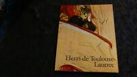 LIVRE D ART / HENRI DE TOULOUSE LAUTREC / EDITIONS TASCHEN 1989