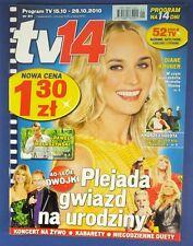 DIANE KRUGER mag.FRONT cover Poland 2010 Morgan Freeman,Lady Gaga