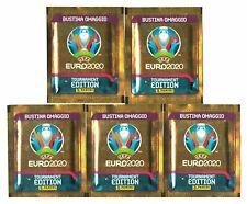 2020-2021 Panini Uefa Euro Tournament Edition BUSTINA OMAGGIO lot x5