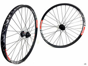 "Wheelset   DT Swiss Freeride FR560 26"" 350 Ratchet Thru axle Downhill DH"
