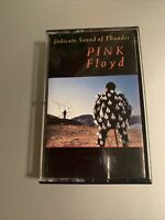 Pink Floyd Delicate Sound of Thunder Vintage Cassette Tape CBS Records 1988