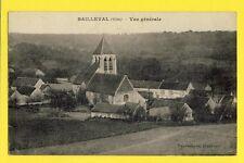 cpa FRANCE Oise 60 - BAILLEVAL Vue Générale Cachet AUNEUIL sur timbre
