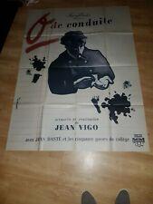 Affiche de cinéma ressortie du film: ZERO DE CONDUITE (120x160cm)