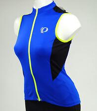Pearl Izumi Women's Elite Pursuit Sleeveless Cycling Jersey, Dazzling Blue, XL