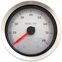 """Drag Specialties 4"""" Tachometer 2211-0167"""