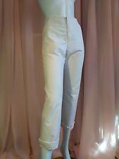 Eleganti pantaloni WOOLRICH, tg 42, 85% cotone E 15% lino