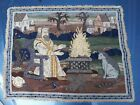 VINTAGE GOTHIC - ARTS & CRAFTS STYLE - KING TAPESTRY RUG / WALL HANGING #1