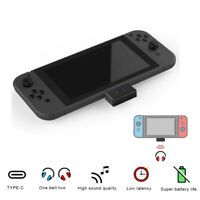 Wireless Bluetooth Type-C Audio Transmitter USB Adapter for Nintendo Switch PS4!