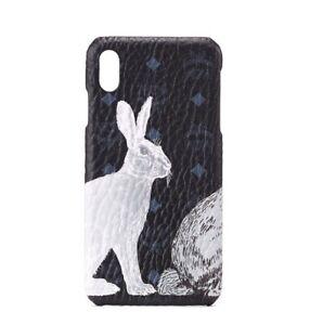 MCM Hide-and-Seek Bunny Black Visetos iPhone XS Max Case mze9avi15bk001