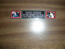 ROGER FEDERER (TENNIS) ENGRAVED NAMEPLATE FOR PHOTO/POSTER/TRUNKS