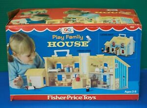 Fisher Price Toys 1969 Play Family House #952 Original Authentic BOX ONLY