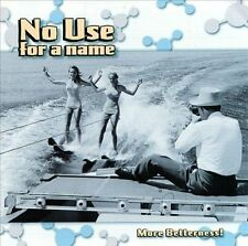 NO USE FOR A NAME - More Betterness CD ( 1999, Fat Wreck, Punk )