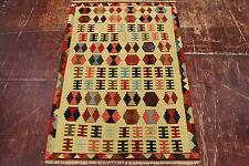 nomades Kelim très bien pièce unique PERSAN TAPIS tapis d'Orient 1,46 X 0,98