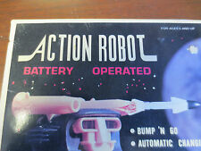 "Vintage Action Robot Mint In Box New Old Stock pre 1970""S Hong Kong item NO. 811"