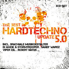CD The Best In Hardtechno Update 5.0 von Various Artists 3CDs