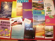 N°5401  /  MAZDA lot de 14 catalogues 1987-2005