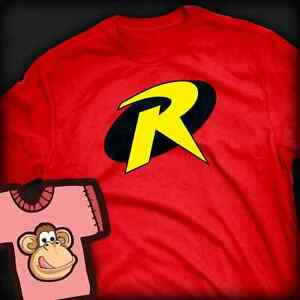 Batman Robin Logo inspired T-shirt - Ladies and Gents Many Colours